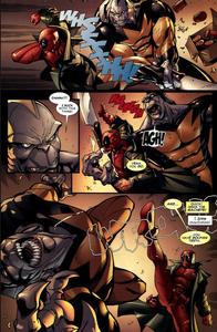 Deadpool vs Tiger Shark 2