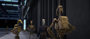 Dooku space hangar