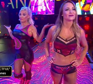 Evil Emma and Dana Brooke