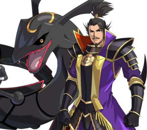Nobunaga and Rayquaza