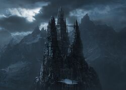 The Castle Dracula (Van Helsing)