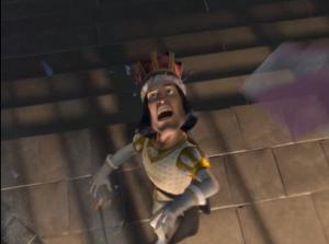 Farquaad screaming