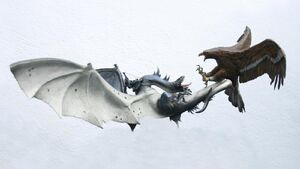 Fell beast vs eagle diorama 2 by minas tirith hakan