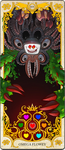 Omega Flowey Tarot Card
