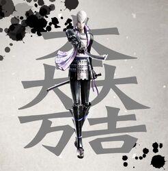 Sengoku Basara 4 Mitsunari Ishida
