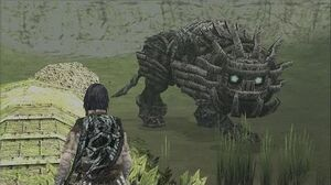 Shadow of the Colossus Cenobia Boss Fight - 14th Colossus (PS3 1080p)