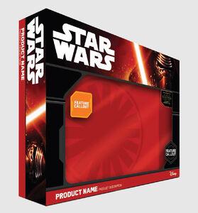 Star Wars product Box Art