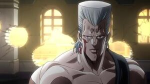 Stardust Crusaders S2 (English Dub) - Polnareff Kills Vanilla Ice