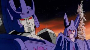 Galvatron and Cyclonus