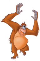 King Louie is danceing
