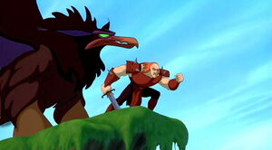Quest for Camelot Ruber Griffin