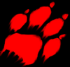 A bloody paw by swiftergirlxd