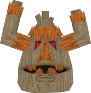 Crash Bandicoot The Wrath of Cortex Rok-ko