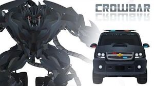 Dreads CROWBAR Transform - Short Flash Transformers Series