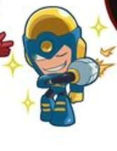 Flash man powered up