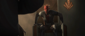 Maul throne