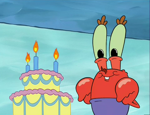 Mr. Krabs As A Baby