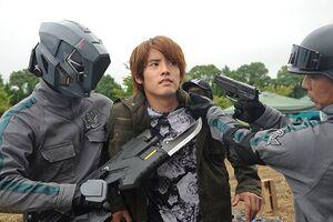Touto Guardian and Ryuga Banjou