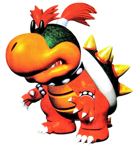 Yoshis Story Baby Bowser