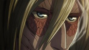 Annie titan face