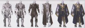 Avengers Infinity War Thanos concept art 17