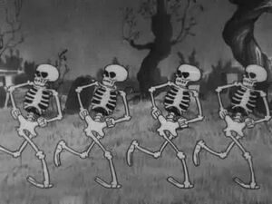 Disney SkeletonsCharactersinSTINDnce