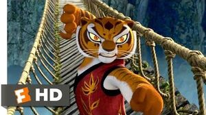 Kung Fu Panda (2006) - The Furious Five Bridge Fight Scene (7 10) Movieclips