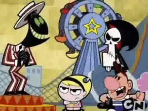 Nergal, Mandy, Grim and Billy