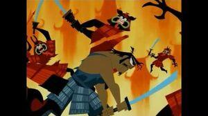 Samurai Jack S3Ep12-Jack's father vs Aku pt2