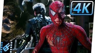 Spider-Man & New Goblin vs Venom & Sandman (Part 2) Spider-Man 3 (2007) Movie Clip