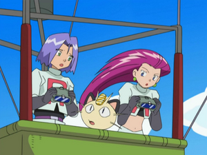 Team Rocket in Air (DP047)