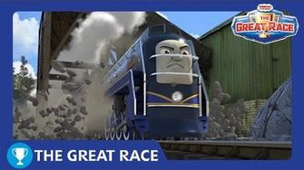 The Great Race Vinnie of North America The Great Race Railway Show Thomas & Friends-0