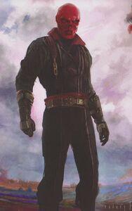 Avengers Infinity War Red Skull concept art 8