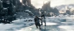 Azog vs Thorin Final Battle