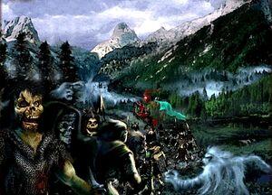 Baron von Tarkin and his army