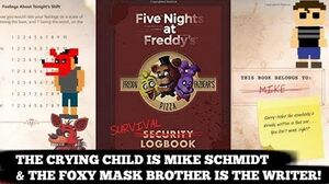 FNAF SURVIVAL LOG PROVES THE CRYING CHILD IS MIKE!