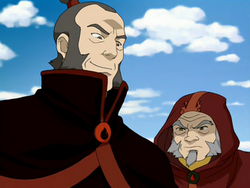 Iroh & Admiral Zhao
