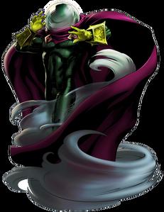 Mysterio Portrait Art