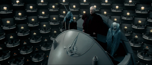 Palpatine addresses