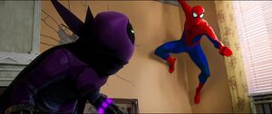 Prowler sees Peter B. Parker