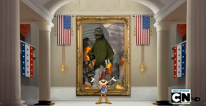 References - Godzilla was the president in the battle of Manila
