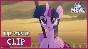 Twilight Retrieves The Staff of Sacanas My Little Pony The Movie Full HD