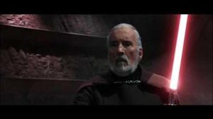 AOTC Count Dooku vs Obi Wan Kenobi, Anakin Skywalker & Yoda
