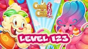 Candy Crush Jelly Saga Level 123 - Jelly Queen