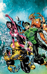 Green Lantern New Guardians Vol 1 13 Textless