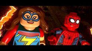 Lego Marvel Super Heroes 2- Steel Serpent Boss Fight