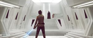 Rey in Kylo's Sanctuary art