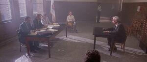 Ronald at the parole board