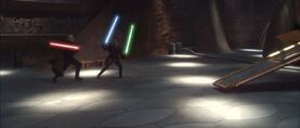 Anakin two swords