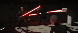 Count Dooku dodge